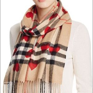 COMING SOON Burberry Cashmere Heart Scarf